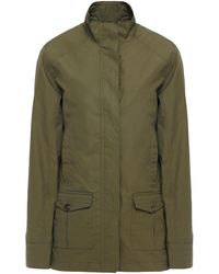 James Purdey & Sons Cotton Field Jacket Army Green