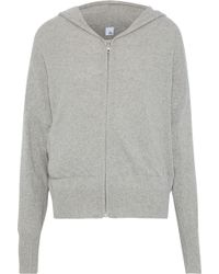Iris & Ink - Cashmere And Wool-blend Hoodie - Lyst
