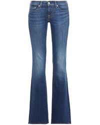 7 For All Mankind - 7 For All Kind Mid-rise Bootcut Jeans Mid Denim - Lyst