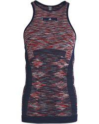 adidas By Stella McCartney - Stretch-knit Tank Navy - Lyst