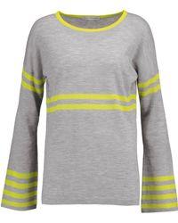 Autumn Cashmere - Striped Cashmere Jumper - Lyst