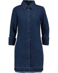 J Brand Denim Shirt Dress - Blue