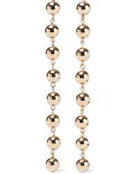 DANNIJO Tampa Gold-tone Earrings Gold - Metallic