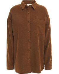 American Vintage Hemd Aus Flanell - Braun