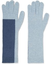 Duffy - Two-tone Wool-blend Gloves - Lyst