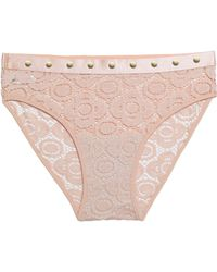 Mimi Holliday by Damaris - Studded Lace Mid-rise Briefs - Lyst
