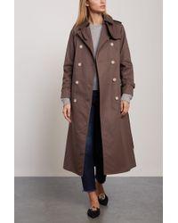 Mackintosh Cotton-gabardine Trench Coat Chocolate - Brown