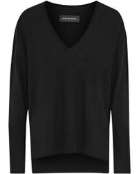 By Malene Birger - Accina Mélange Wool And Cashmere-blend Jumper - Lyst
