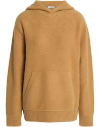 Vince - Cashmere Hooded Sweatshirt - Lyst