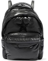 Stella McCartney - Falabella Go Star Mini Backpack - Lyst