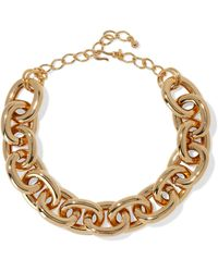 Kenneth Jay Lane Gold-plated Choker Gold - Metallic
