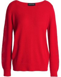 Vanessa Seward - Stretch-knit Cotton Sweater - Lyst