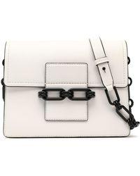 Michael Kors - Chain-trimmed Leather Shoulder Bag - Lyst