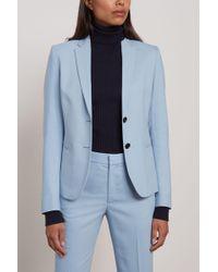 Filippa K Jackie Crepe Blazer Light Blue