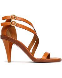 Chloé - Misty Leather Sandals - Lyst