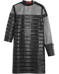 Ronald Van Der Kemp Short Dress - Black