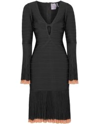 Hervé Léger - Rinnaa Panelled Bandage Dress - Lyst