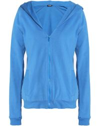 Just Cavalli - Crystal-embellished French Cotton-terry Hooded Jacket - Lyst
