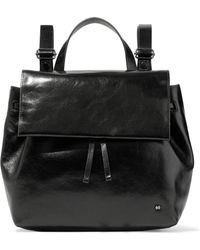 Halston - Leather Backpack - Lyst