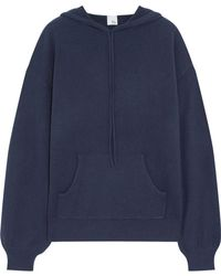 Iris & Ink - Anya Cashmere Hooded Top - Lyst