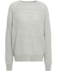Day Birger et Mikkelsen Mélange Ribbed-knit Sweater Sky Blue - Multicolour