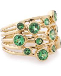 Ippolita - 18-karat Gold Tsavorite Ring - Lyst