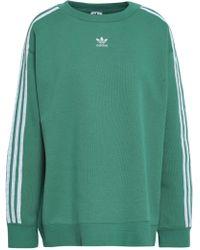 adidas Originals - French Cotton-blend Terry Sweatshirt - Lyst