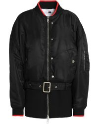 Opening Ceremony - Belted Shell Bomber Jacket - Lyst