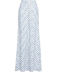 Peter Pilotto - Printed Wide-leg Trousers - Lyst