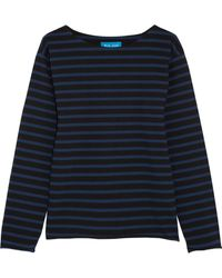 M.i.h Jeans - Mariniere Striped Cotton-jersey Top - Lyst