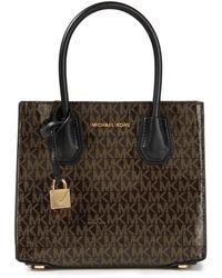 MICHAEL Michael Kors Top Handle Bags Brown