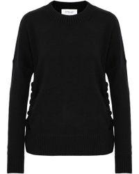 10 Crosby Derek Lam - Tie-detailed Cashmere Sweater - Lyst