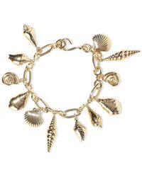 Noir Jewelry - 14-karat Gold-plated Bracelet Gold - Lyst
