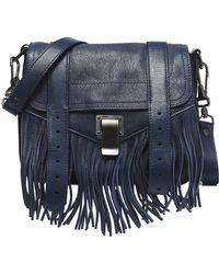 Proenza Schouler - Ps1 Fringed Leather Shoulder Bag - Lyst