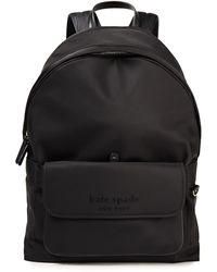 Kate Spade Journey Shell Backpack - Black