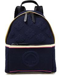 Kate Spade Jacquard-knit Backpack Midnight Blue