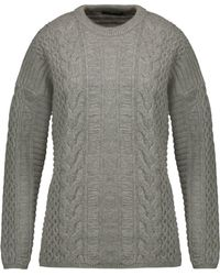 Belstaff - Katriona Cable-knit Wool And Cashmere-blend Sweater - Lyst