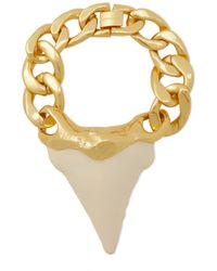 Zimmermann Wavelength Surf Gold-tone Resin Bracelet - Metallic