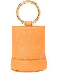 Simon Miller Nubuck Bucket Bag - Orange