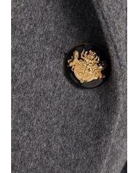 Paul & Joe Double-breasted Brushed Wool-blend Felt Blazer - Grey