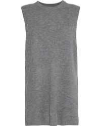 N.Peal Cashmere - Ribbed Cashmere Top - Lyst