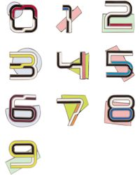 Proenza Schouler - Number Enameled Brooches - Lyst