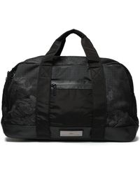 adidas By Stella McCartney - Panelled Mesh And Shell Weekend Bag - Lyst
