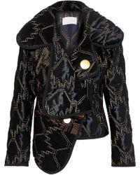 Peter Pilotto - Velvet Jacket With Contrast Thread - Lyst