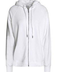 Zoe Karssen Woman Mélange Cotton-blend Terry Hooded Sweatshirt White Size M Zoe Karssen Marketable Sale Online Purchase For Sale Discount Codes Clearance Store Clearance Deals Na2bkZfT