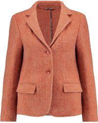 Etro - Wool And Alpaca-blend Blazer - Lyst