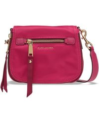Marc Jacobs Trooper Nomad Small Shell Shoulder Bag Fuchsia - Multicolour