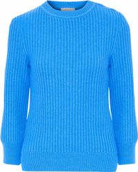 Nina Ricci - Ribbed Wool And Cashmere-blend Sweater - Lyst