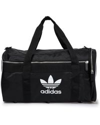 adidas Originals Printed Shell Gym Bag Black