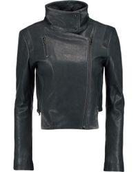 J Brand   Connix Leather Biker Jacket   Lyst